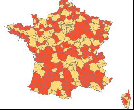 Analyse des trajectoires de développement propres et partagées des métropoles et villes moyennes françaises